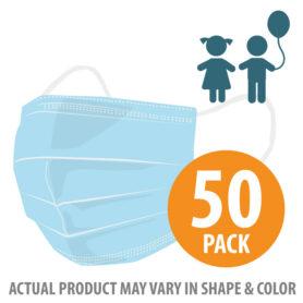 Pediatric 3-Ply Masks 50pk